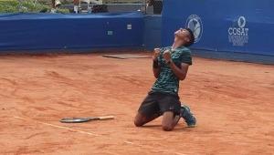 Tenista tolimense quedó campeón de sudamericano realizado en Armenia