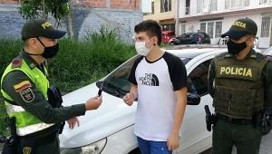 En cuestión de horas la Policía recuperó un automóvil hurtado en la variante de Ibagué