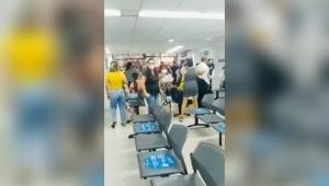 Usuario de Medimás se salió de control y atacó a varias personas en la sede de la calle 38 con Quinta