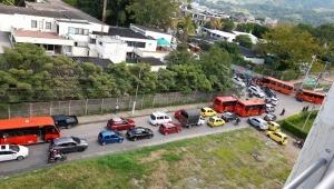 Prepárese para la congestión vial de este mediodía por la Vuelta a Colombia