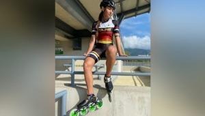 Delincuentes dejaron sin su indumentaria a patinadora ibaguereña