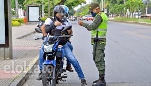 Prohíben parrillero en moto por partido entre Deportes Tolima y Millonarios