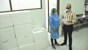 17.180 dosis de Sinovac llegaron al Tolima para completar esquemas de vacunación