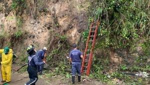 Cuatro emergencias ocasionadas por deslizamientos fueron atendidas este viernes en Ibagué