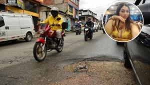 La milagrosa recuperación de una mujer que sufrió un grave accidente en Ibagué por culpa de un hueco