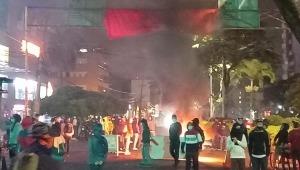 Otra noche de disturbios en Ibagué: reportan ataques a cajeros y establecimientos comerciales