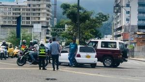 Trancones y accidentes viales se presentaron esta tarde en Ibagué