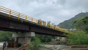 Inaugurarán el puente vehicular que conecta a Gualanday con San Luis