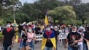 Estas son las cinco peticiones que realizan los jóvenes manifestantes de Ibagué