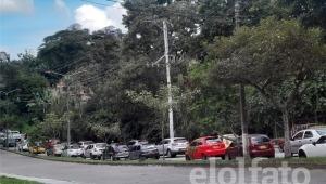 Ahora fueron los taxistas los que decidieron bloquear las calles de Ibagué