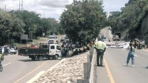 Cierres en diferentes vías del Tolima por manifestaciones