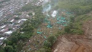 Cinco personas capturadas durante desalojo en predio de la comuna Ocho de Ibagué
