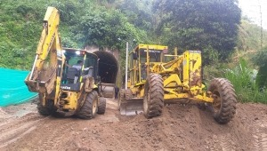 Inició intervención en la vía Los Túneles – Tapias de Ibagué