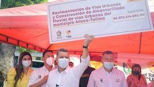 Destinan cerca de $7.000 millones para pavimentar vías urbanas de Ataco