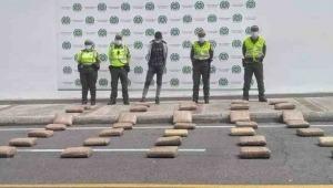 Incautan cerca de 90.000 dosis de marihuana en La Variante de Ibagué