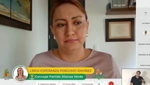 Concejal Linda Perdomo cuestiona contratación de la Personería de Ibagué