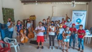 Niños y jóvenes de Ibagué podrán aprender artes plásticas y música con los talleres de Sinfarte