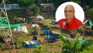 Aparece video de Hernando Álvarez Urueña promoviendo invasiones en Ibagué