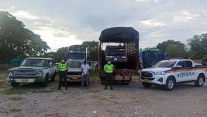 Capturan en el Tolima a dos sujetos que habían hurtado un compresor en vías del departamento de Cundinamarca