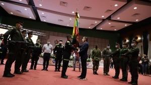 Se posesionaron los nuevos comandantes de la Policía del Tolima e Ibagué