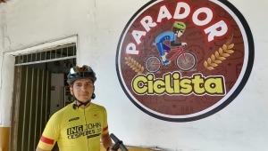 John Céspedes: el ciclista que vio una oportunidad de emprendimiento en el solitario Gualanday