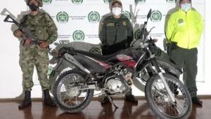 Continúa la recuperación de motocicletas robadas en el Tolima