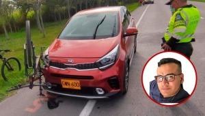 Inspector de Policía que conducía ebrio fue quien atropelló a ciclista en la Variante de Ibagué
