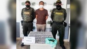 Traficante fue delatado por sus nervios al ver la patrulla policial en Ibagué