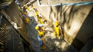 IBAL continúa con limpieza en la bocatoma Combeima para regular servicio de agua en Ibagué