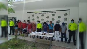 """Cayeron capturados los 8 delincuentes de """"Los Modelos"""" en el municipio de Purificación"""