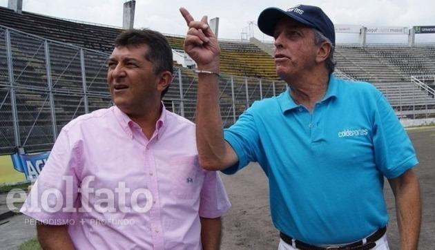 Luis H. Rodríguez y Andrés Botero.