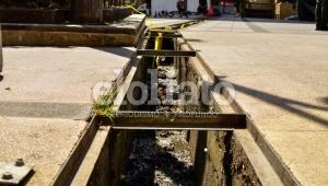Denuncian el peligroso estado de algunas alcantarillas en el transitado parque Murillo Toro de Ibagué