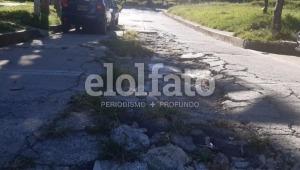 Denuncian deterioro de otra calle que fue intervenida por el IBAL, pero que no pavimentó