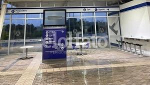 Ciudadanos denuncian que llueve más adentro que afuera en el Aeropuerto Perales de Ibagué