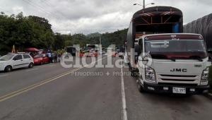 Se reportan cuatro bloqueos en las principales vías del Tolima