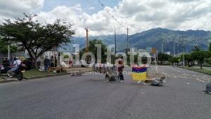 Se reporta bloqueo vial en la calle 80 y plantones otros puntos de Ibagué
