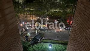 Conductor ebrio provocó fuerte accidente frente a Bosque Largo en Ibagué